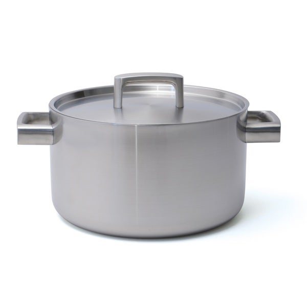 BergHOFF Ron 10-inch 6.4-quart 5-ply Covered Stockpot