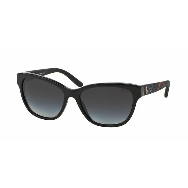 Polo Women PH4093 54998G Black Square Sunglasses