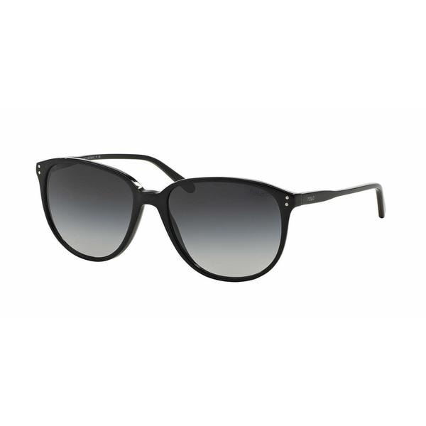 Polo Women PH4097 50018G Black Plastic Phantos Sunglasses
