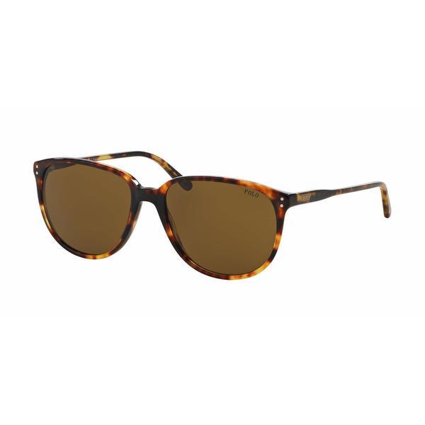 Polo Women PH4097 535173 Havana Plastic Phantos Sunglasses