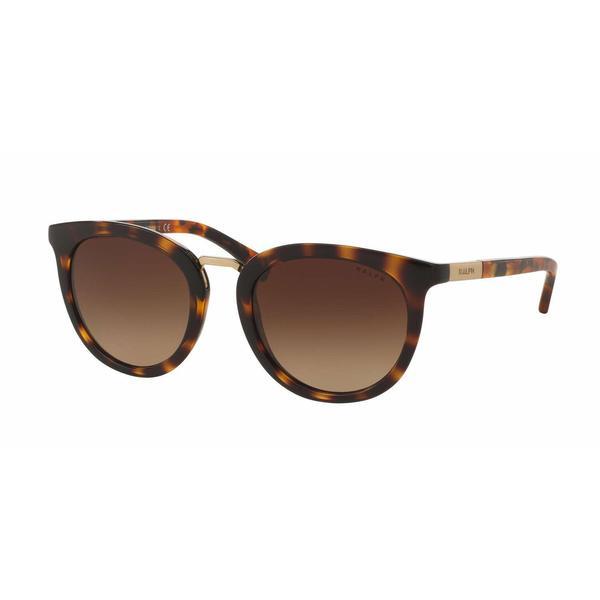 Ralph Women RA5207 150613 Havana Plastic Round Sunglasses