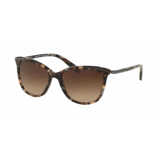 Ralph Women RA5203 146213 Brown Plastic Cat Eye Sunglasses
