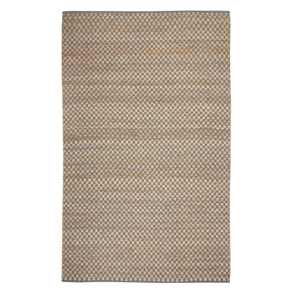 Indy Flat Woven Rugs Blue Green ( 8' x 11')