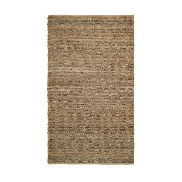 Classic Flat Woven Rugs Tan ( 8' x 11')