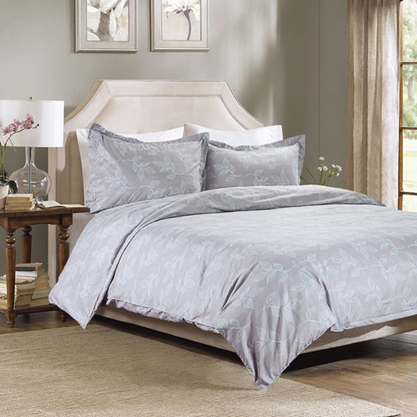Bedsure Leaves Duvet Cover Set