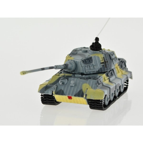 1:72-scale RC King Tiger Tank With Sound and Rotating Turret