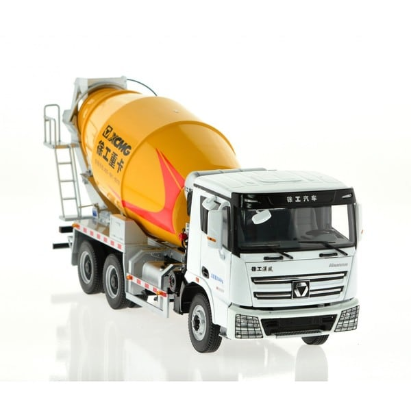 Hanfan Boys' Concrete Mixer Yellow Truck