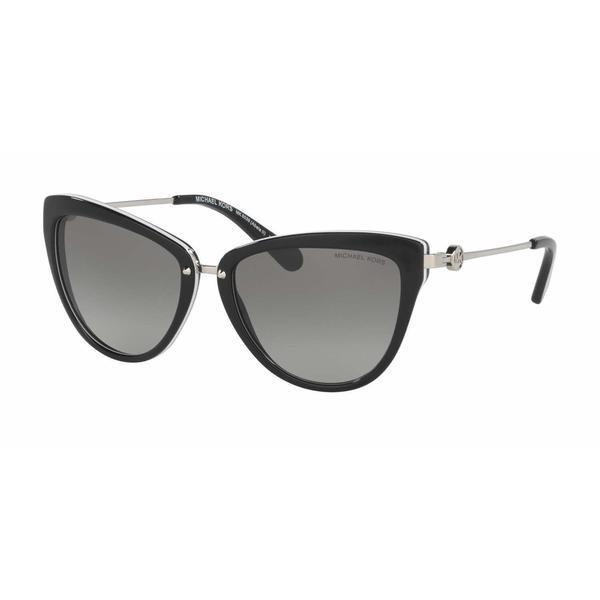 Michael Kors Women MK6039F 312911 Plastic Metal Cat Eye Sunglasses