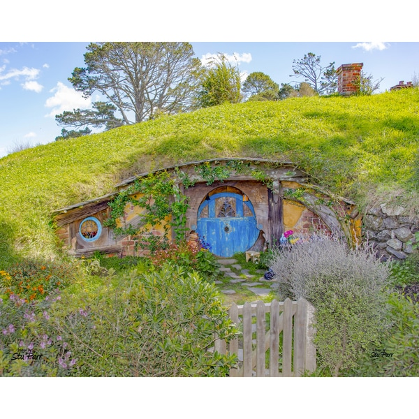Stewart Parr 'Bilbo Baggin's House in the Hobbit Shire' Unframed Photo Print