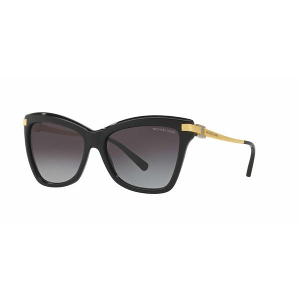 Michael Kors Women MK2027 AUDRINA III 317111 Black Metal Cat Eye Sunglasses