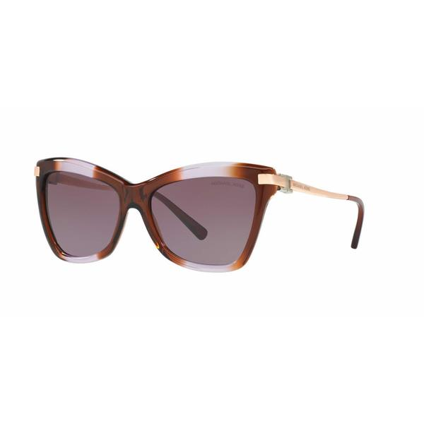 Michael Kors Women MK2027 AUDRINA III 31738H Brown Metal Cat Eye Sunglasses