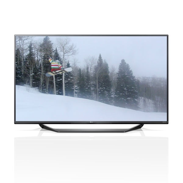 LG Refurbished Black 49-inch 4K Smart LED TV