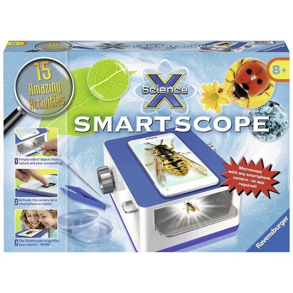 Ravensburger Science X Smartscope Science Kit