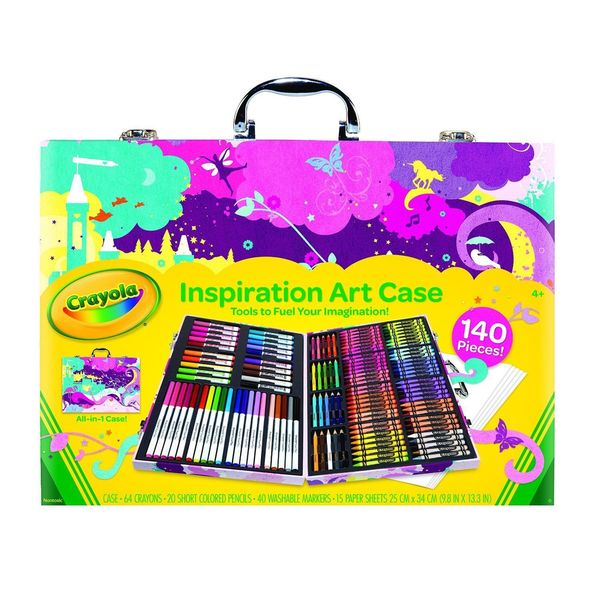 Crayola Pink Inspiration Art Case