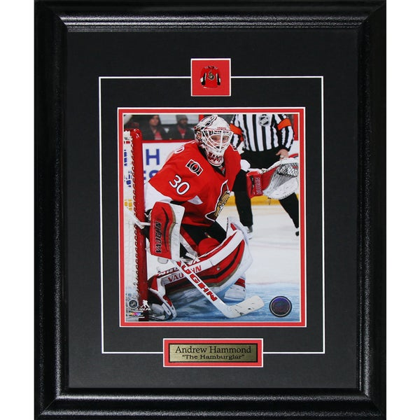 Andrew Hammond Hamburglar Ottawa Senators 8 x 10 Framed Photograph