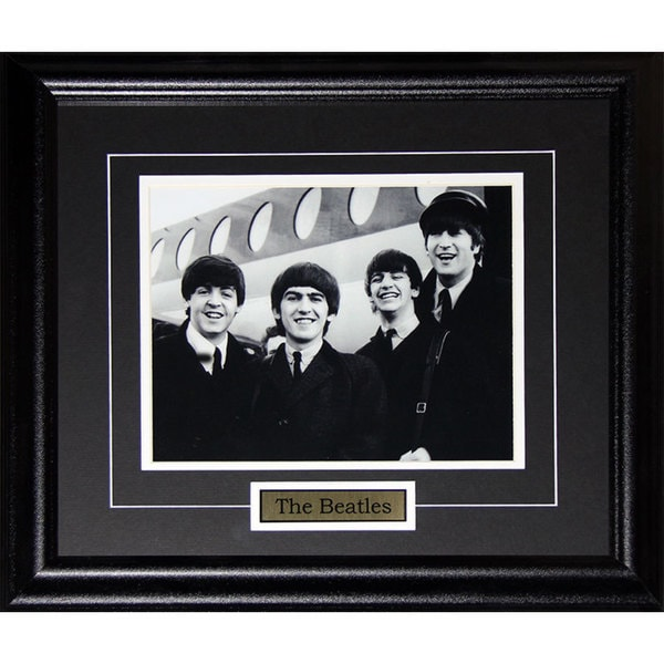 'The Beatles John Lennon George Harrison Paul McCartney Ringo Starr' 8-inch x 10-inch Frame