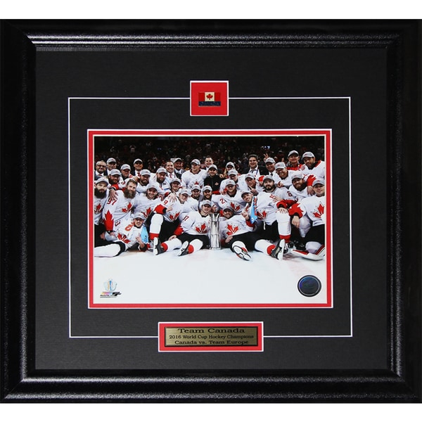 2016 Team Canada World Cup of Hockey Champions 8 x 10 Framed Photograph 22081228