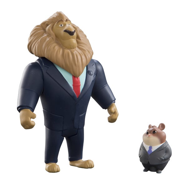 Mayor Lionheart and Lemming Businessman Zootopia Pack 22081476