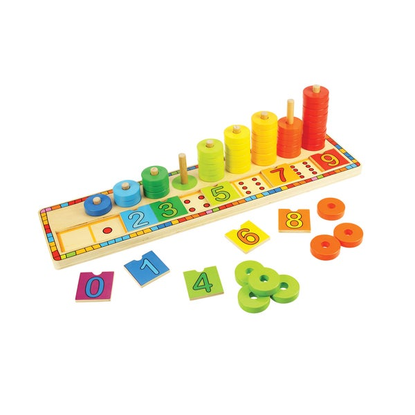 Bigjigs Toys Learn to Count Puzzle 22081485