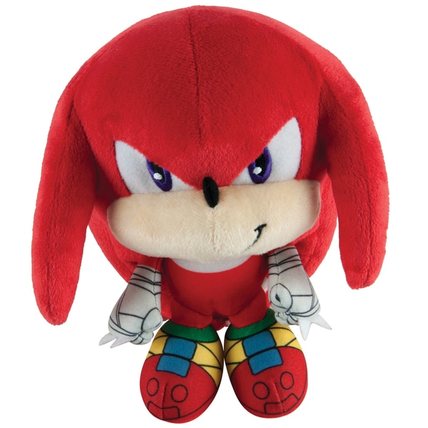 TOMY Sonic Boom Head Plush Knuckles