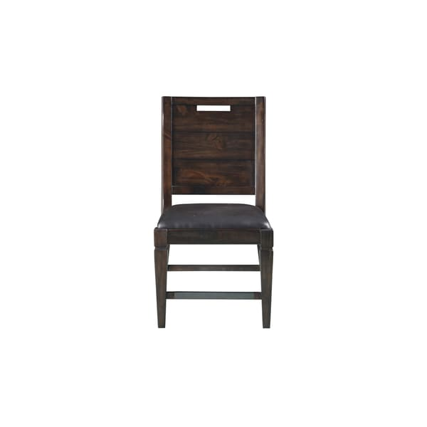 Magnussen Home Furnishings Pine Hill Rustic Pine Dining Side Chair (Set of 2)