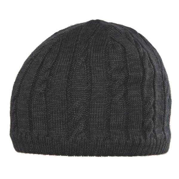 Chaos Hats Nate Black Wool-blend Classic-fit Beanie