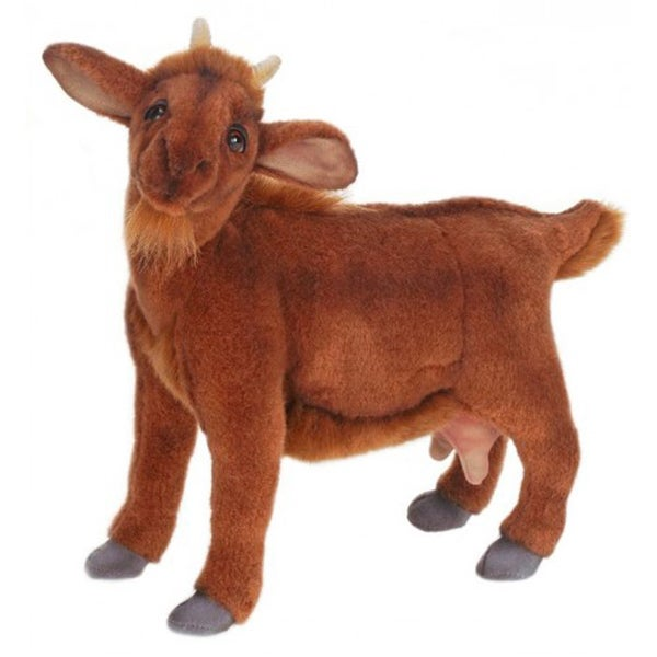Hansa Brown Goat Plush Toy 22083077