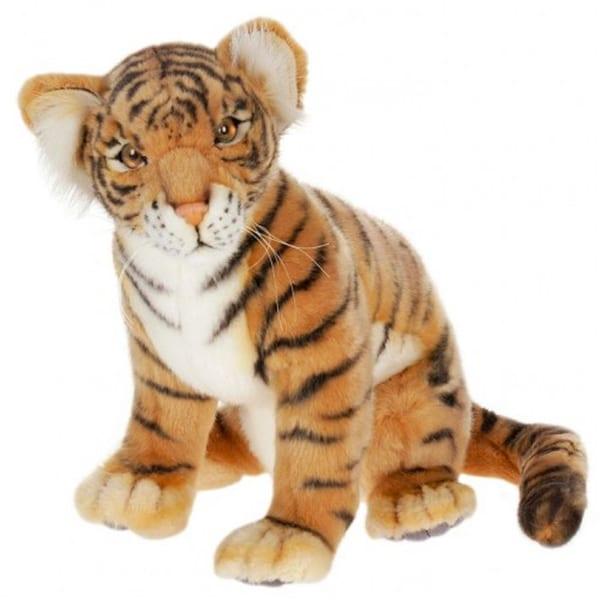 Hansa Sitting Tiger Cub Plush Toy