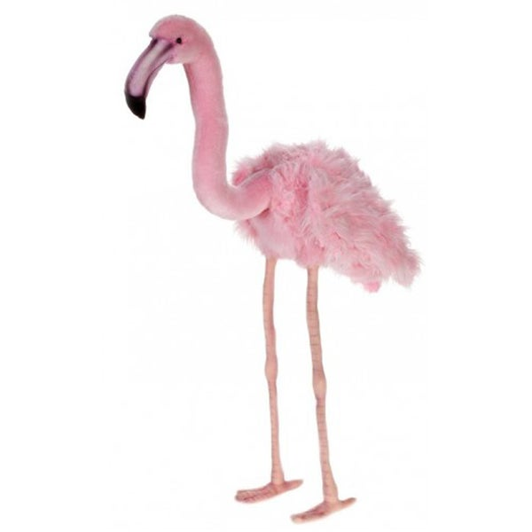 Hansa Large Pink Flamingo Plush Toy