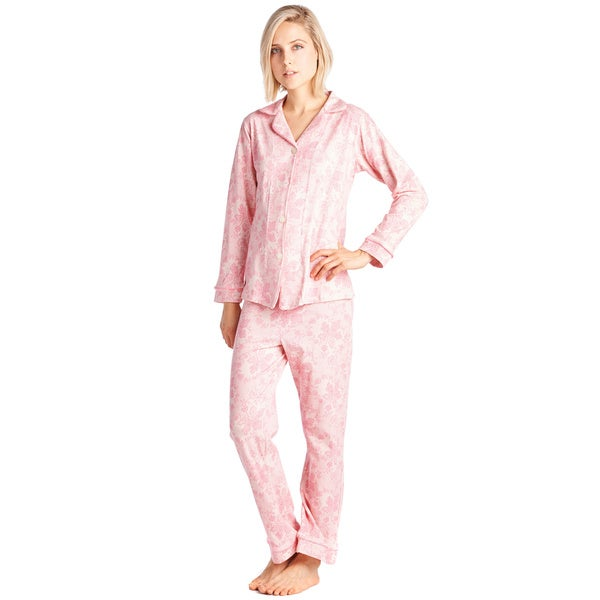 BedHead Pajamas Classic Long Sleeve Cotton and Spandex Pajama Set