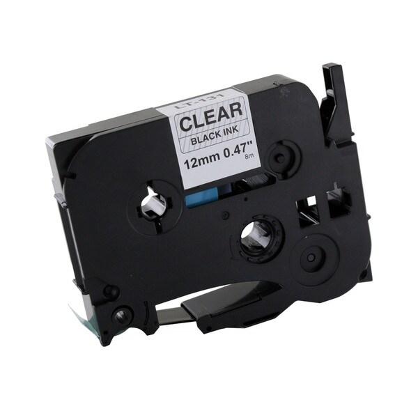 Thornton's Office Supplies Black Metal/Plastic Compatible P-Touch Tape Cassette