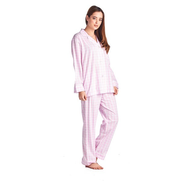 Bedhead Pajamas Women's Multicolor Cotton Classic Long-sleeve Pajama Set