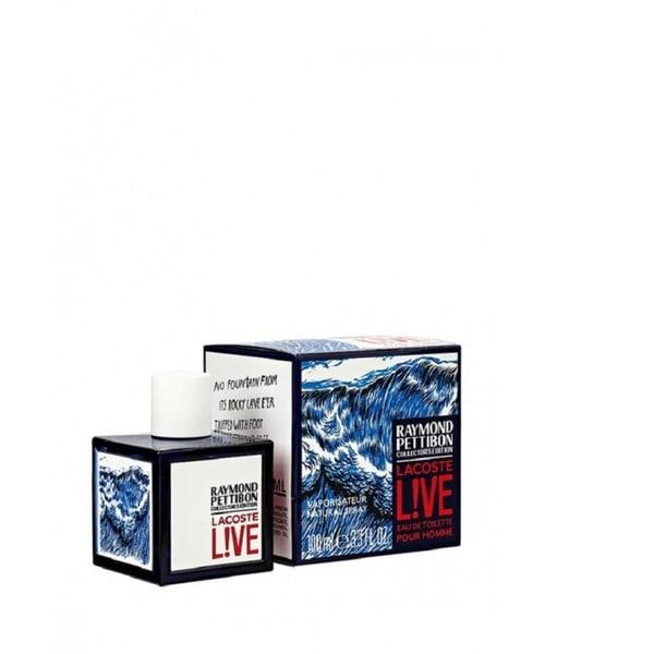 Lacoste Live Raymond Pettibon Collector's Edition Men's 3.3-ounce Eau de Toilette Spray