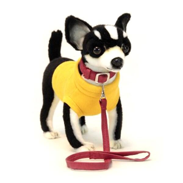 Hansa Black Chihuahua Plush Toy 22083778