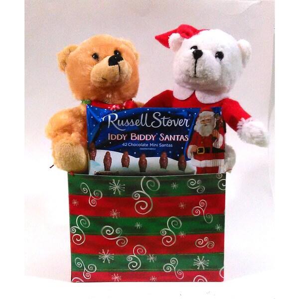 Santa Pals Russell Stover Chocolates Gift Box