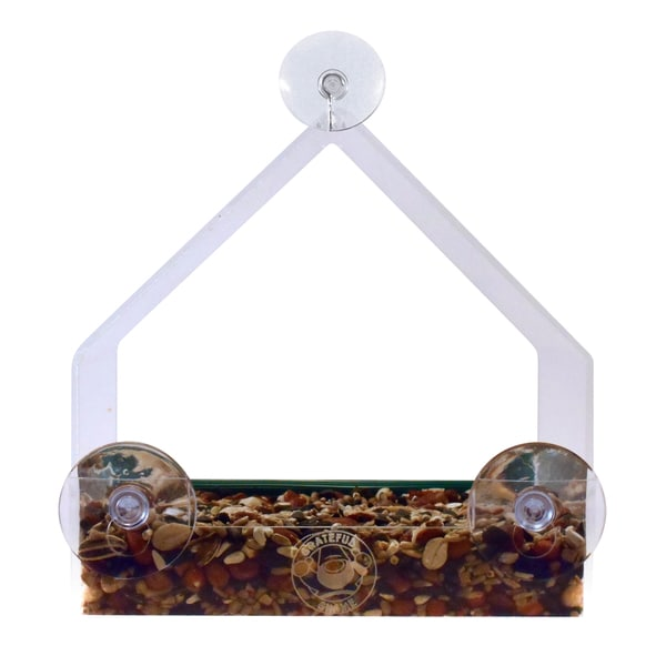 Grateful Gnome House Window Bird Feeder 22084149