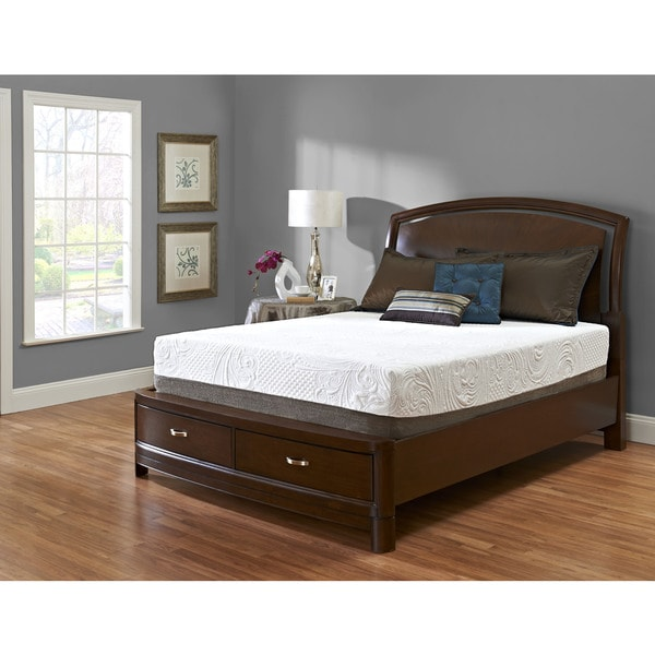 Klaussner Furniture Strata PureGel 12-inch Twin-size Gel Memory Foam Mattress