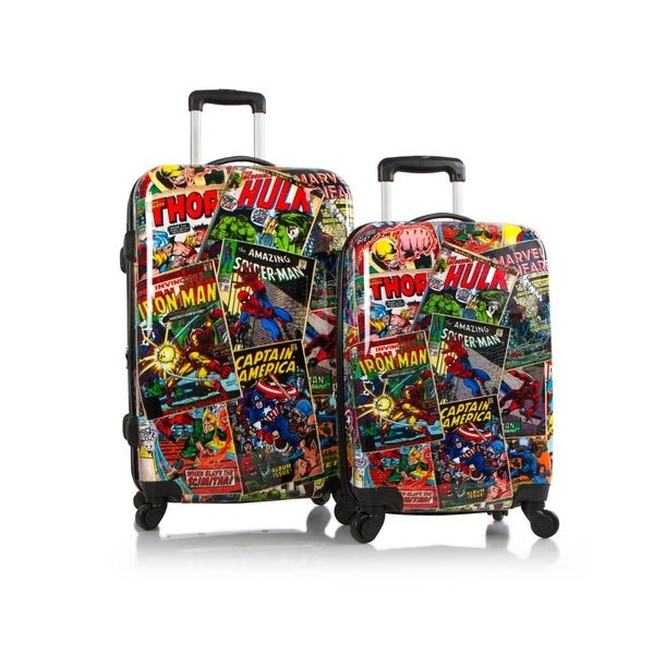 Heys Marvel Comics 2-piece Expandable Hardside Spinner Luggage Set