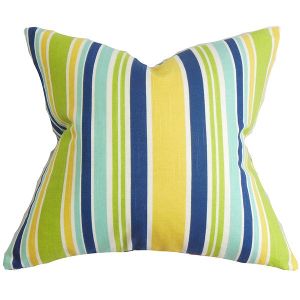 Manila Stripe Euro Sham Yellow