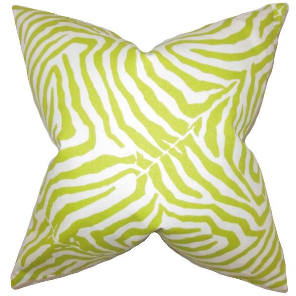 Oneanta Zebra Print Lime