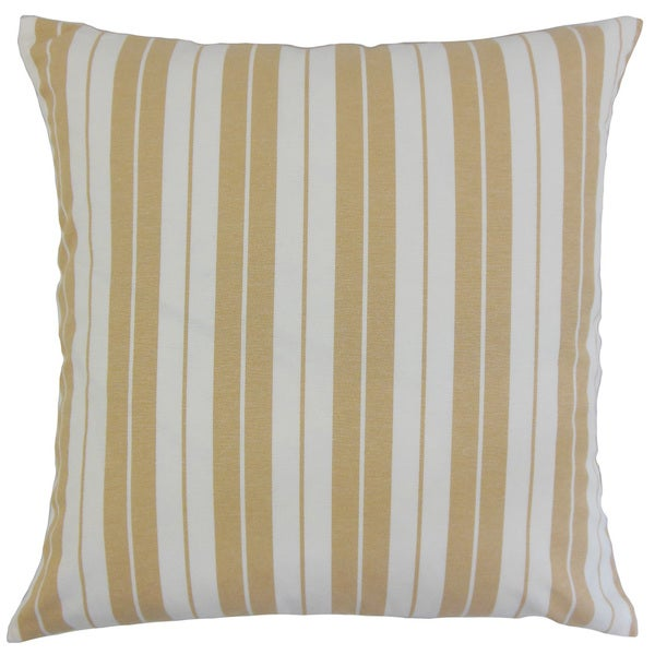 Henley Stripes Euro Sham Honey