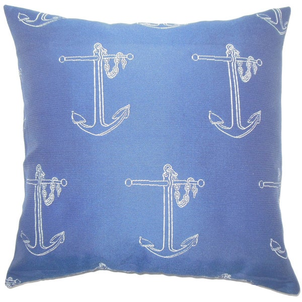Wies Graphic Euro Sham Blue