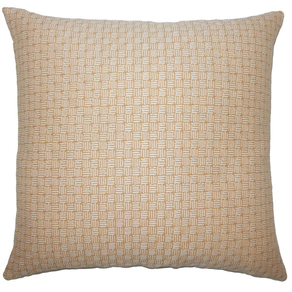 Nahuel Geometric Euro Sham Honey