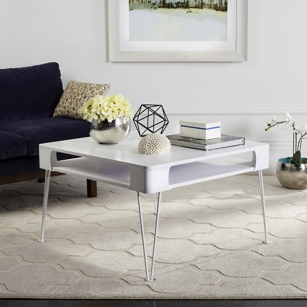 Safavieh Mid-Century Modern Elior Scandinavian Storage Coffee Table