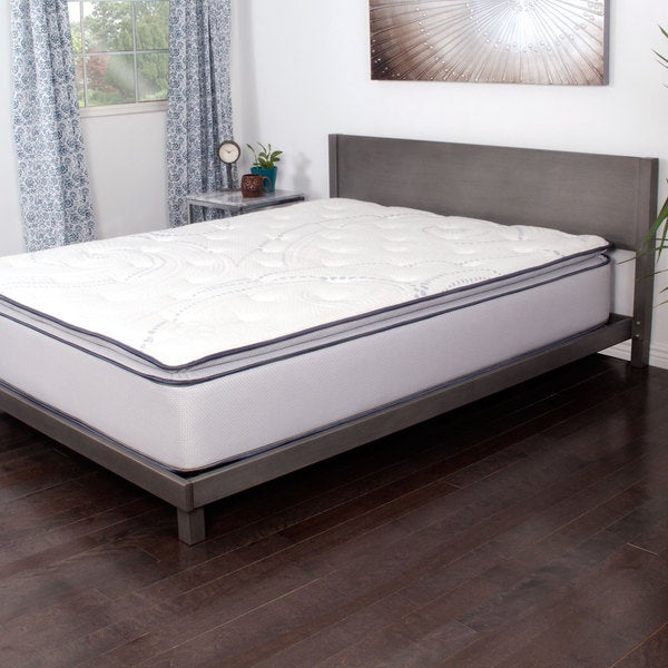 NuForm Affinity 13-inch California King-size Pocketed Coil Gel Pillowtop Mattress