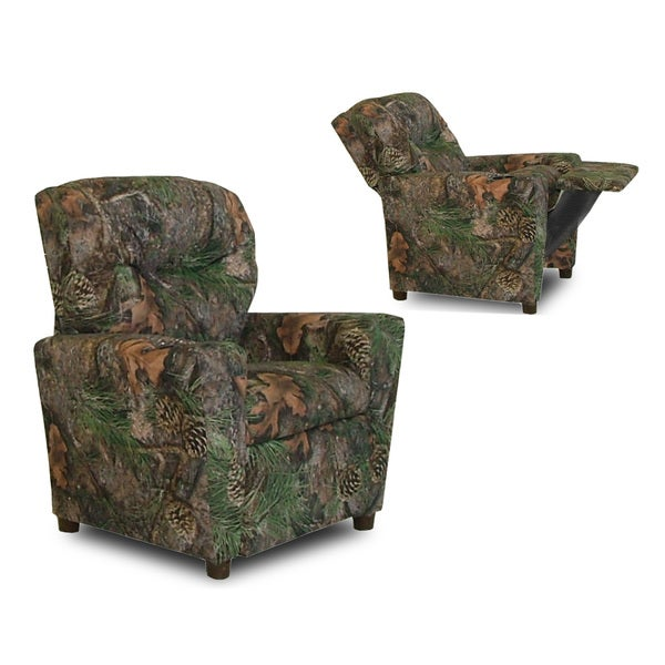 Dozydotes Cup Holder Camouflage Green True Timber Kid Recliner