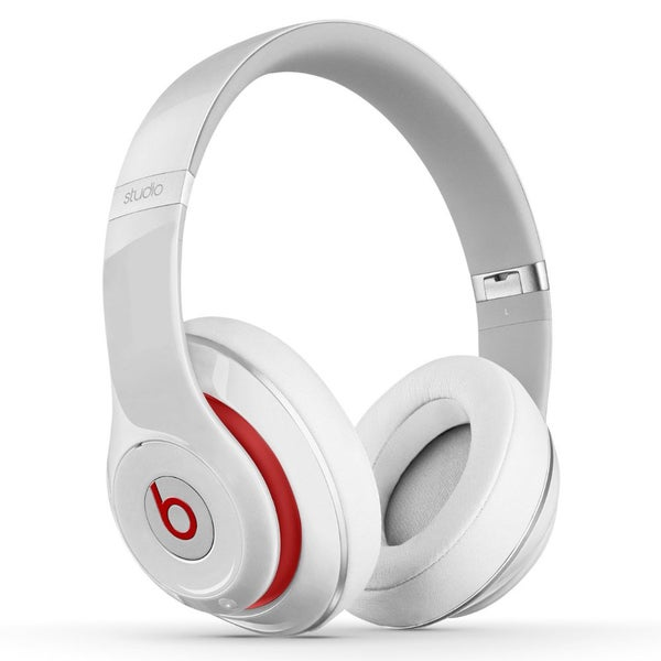 Beats by Dre Studio 2 White Refurbished Wired Over-ear Headphones