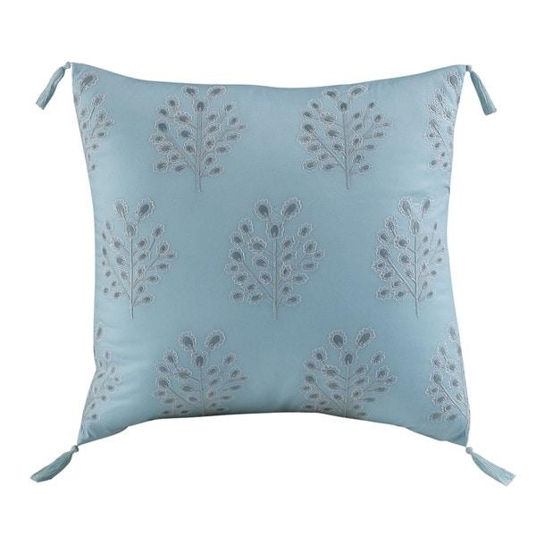 Dena Home Valentina Aqua Square Decorative Throw Pillow 22103844