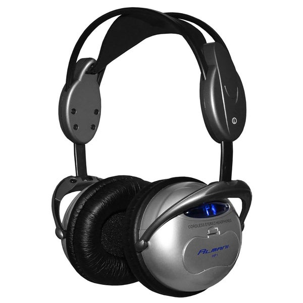 Almani Wireless Bluetooth Headphones HP1 - Black/Silver