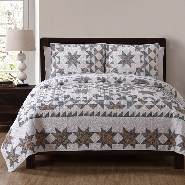Estate Clara Floral Quilt Set